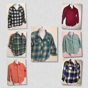 Other - Lot of 6_Boys button down shirts